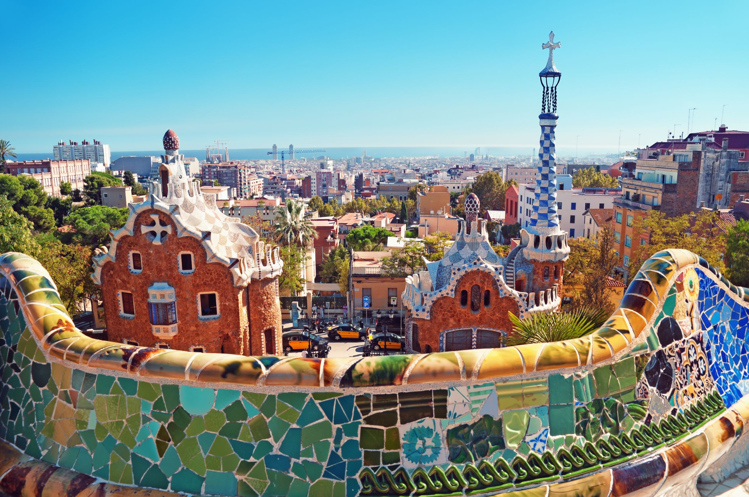 Parque Guell Bing Images